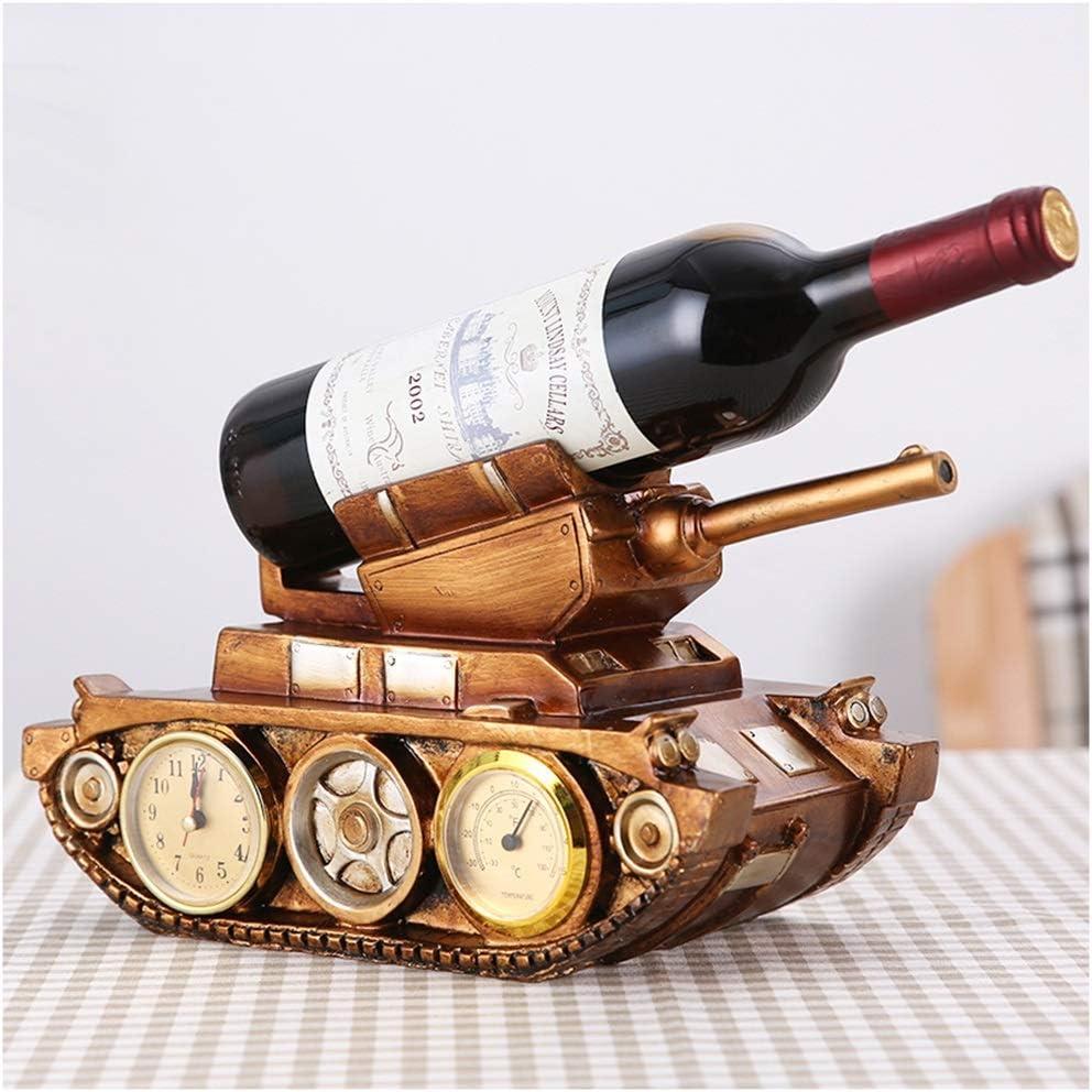 SMC Recommendation Dedication Wine Rack Retro European Decoration Watch Decorat Style