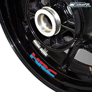 coppia adesivi sticker FIREBLADE honda cbr prespaziato auto moto,casco 19,5 cm