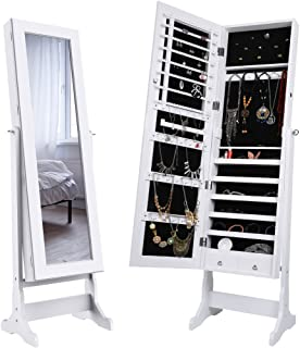 Best full length mirror with jewelry storage nz Reviews