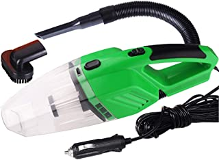 Sangmei Portable 120W Car Vacuum Cleaner Household Handheld Perfect Accessories Kit for Detailing and Cleaning Car Interior