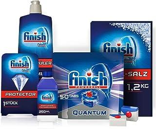 Finish 入門套裝,5件,適用于洗碗機、Quantum 洗碗機和各種配件