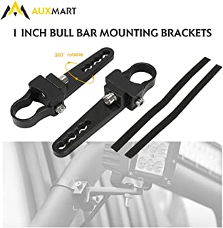 AUXMART Tube Clamps Mounting Brackets for LED light bar Work Lights Fog Lights Off Road Lights Fit 1