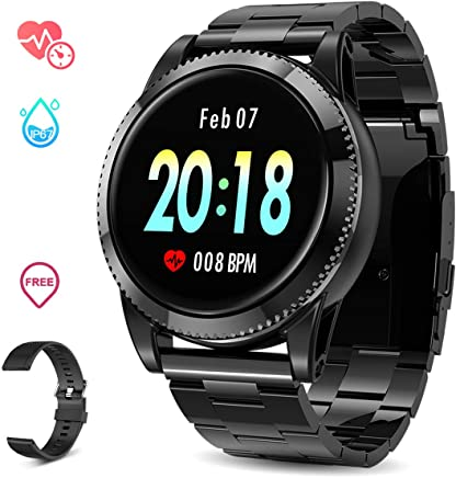 Smart Watch for Men, GOKOO Sports Smartwatch Fitness...