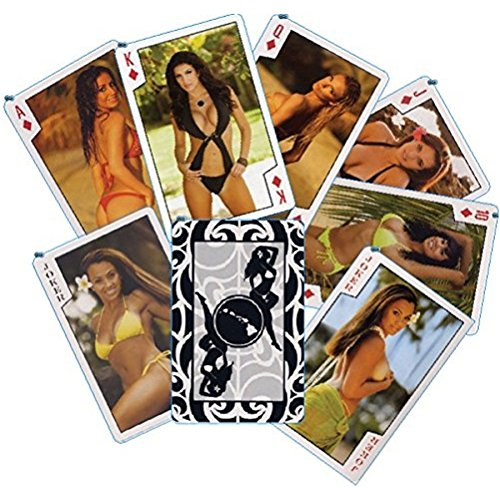 The Islander Group Playing Cards Girls of Hawaii