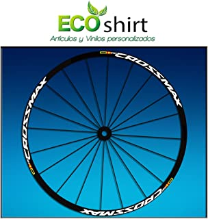 Ecoshirt 1J-C9TF-OB1E Stickers Rim Mavic Crossmax SL Pro 27.5 Inches Am50 MTB Downhill White 26 Inches