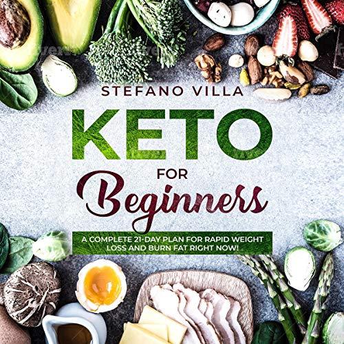 Keto for Beginners audiobook cover art