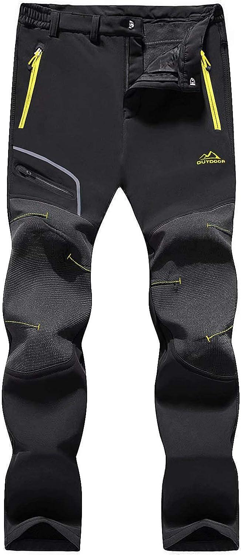 MAGCOMSEN Womens Winter Pants Warm Regular dealer Res Max 86% OFF Hiking Lined Water Fleece