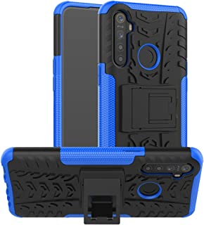Realme 5i (Realme 6i) Case, Realme 5i (Realme 6i) Hybrid Case, Dual Layer Protection Shockproof Cover Hybrid Rugged Case w...