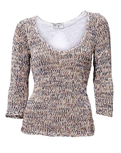 Rick Cardona Designer-Pullover bunt Größe 46