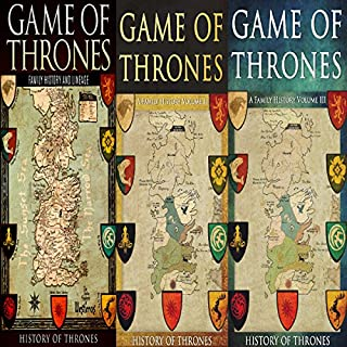 Game of Thrones     3 Book Series              By:                                                                                                                                 History of Thrones                               Narrated by:                                                                                                                                 Phillip J. Mather                      Length: 3 hrs and 16 mins     54 ratings     Overall 3.7