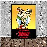 WXUEH Asterix - Obelix Collection Poster Und Drucke