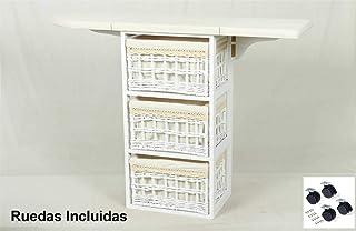 Meyvaser Mueble de Plancha Coimbra Blanco