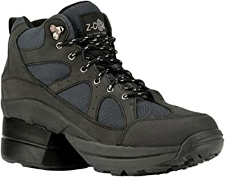 Pain Relief Footwear Women's Outback Hiker Enclosed Coil Black Boots