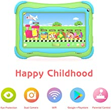 Kids Tablet 7 Android Kids Tablets for Kids Edition Tablet PC Android Quad Core Toddler..