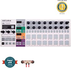 Arturia BeatStep Pro Controller and Sequencer includes Free Wireless Earbuds - Stereo Bluetooth In-ear and 1 Year Everything Music Extended Warranty