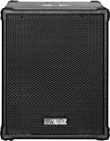 Earthquake Sound DJ-Quake (Ver 2) 12-inch 1200-Watt Subwoofer with Built-In Amplifier, USB/SD, and Bluetooth, Black