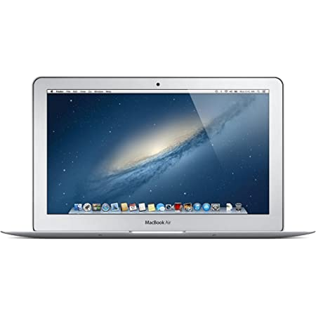 Apple MD711LL/A MacBook Air 11.6-Inch Laptop (1.3GHz Intel Core i5 Dual-Core, 4GB RAM, 128GB SSD, Wi-Fi, Bluetooth 4.0) (Renewed)