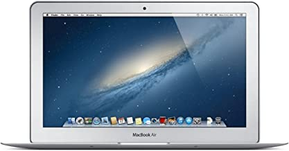 Apple MD711LL/A MacBook Air 11.6-Inch Laptop (1.3GHz Intel Core i5 Dual-Core, 4GB RAM, 128GB SSD, Wi-Fi, Bluetooth 4.0) (Renewed)