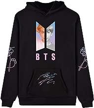 babyHealthy Kpop BTS Love Yourself Autograph V Jimin Suga Jung Kook World Tour Hoodie Sweatshirt Jacket