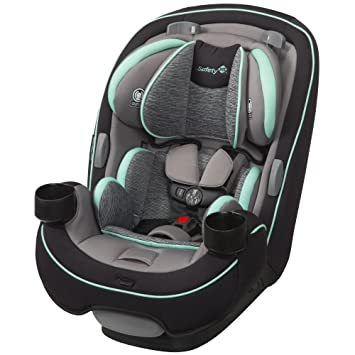 Safety 1st Grow and Go All-in-One Convertible Car Seat, Aqua Pop: image