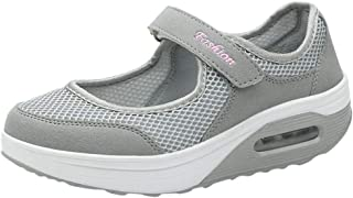 Walking Shoes for Women,ONLY TOP Women's Mary Jane Sneakers Comfortable Working Nurse Shoes Casual Shape Shoes