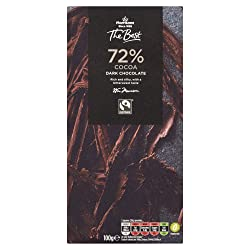 Morrisons The Best Cocoa Dark Chocolate, 100 g