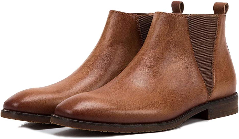 Stiefel Herren Chelsea-Stiefel Aus Leder Chukka Desert Ankle Stiefel Stiefel Wanderschuhe Arbeitsschuhe  Online-Verkauf sparen Sie 70%