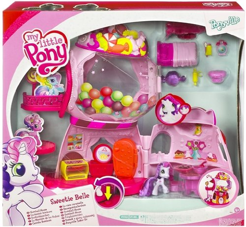 Hasbro - My Little Pony 91249 - Ponyville Sweetie Belle's Zuckerhuschen