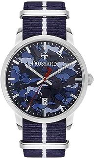 Trussardi Men's T-GENUS_R245111 Watch Blue