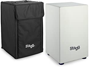 Stagg Medium sized, wooden Cajon with black nylon bag