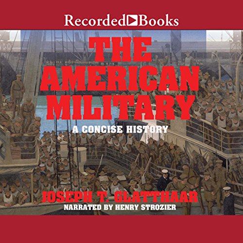 The American Military audiobook cover art