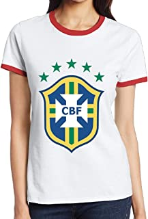 LTJTOT Women's Copa America 2016 Argentina Tshirts Red