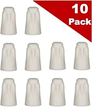 (Pack of 10) Small #3 Porcelain Wire Connector, High Temp Ceramic Wire Nuts (12-10 AWG)