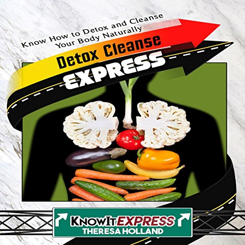 Detox Cleanse Express audiobook cover art