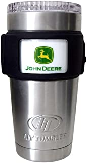 John Deere Logo LiT Coolers Heavy Duty Night-Sight Cooler with LED Lights