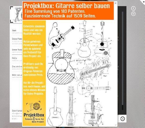 Gitarre selber bauen: Deine Projektbox inkl. 183 Original-Patenten bringt Dich mit Spaß ans Ziel!