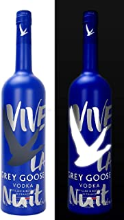 Grey Goose Vodka Vive La Nuit Limited Edition 1500ml 40% Vol - Mit LED Beleuchtung -Enthält Sulfite
