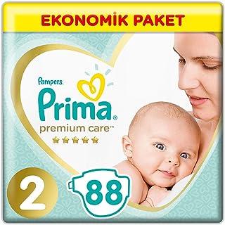 Prima Bebek Bezi Premium Care 2 Beden Mini Jumbo Paket 88 Adet