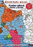Poster géant, carte du monde : CP