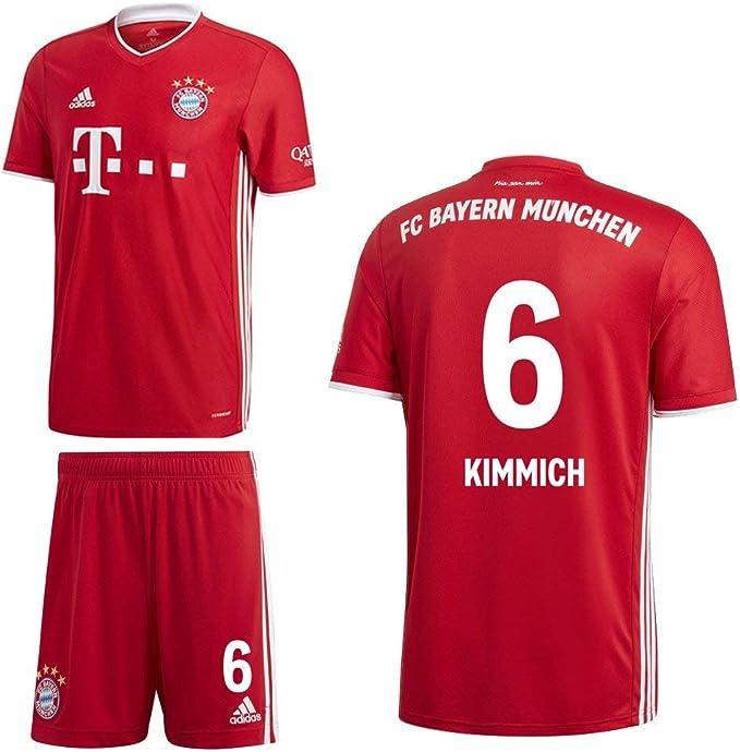 Adidas FCB FC Bayern München Home Kit 2020 2021 - Set da casa per ...
