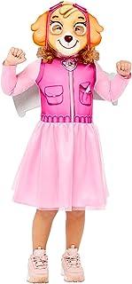 amscan Disfraz oficial de Nickelodeon Skye Paw Patrol de 3-4 y 4-6 años