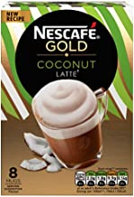 Nescafe Gold Coconut Latte Sachets Imported From The UK England Instant Coffee Finely Beans With Milk Sugar British Frothy Coffee