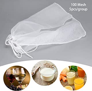 TARTIERY Malla Bolsa Cadena Filtro de Calidad alimentaria Accesorio para aclarar restos Mosto de la maceración Bag Suitable for Batch Homemade Filter Bag Bucket Can be Customized.