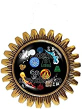Handmade Fashion Jewelry Elements Fire Water Tribe Earth Kingdom Air Nomads Art Symbol Avatar The Last Airbender Brooch Badge Pin Cute Legend of Korra Cosplay Charm