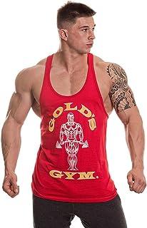 Gold's Gym Fitness Canotta Allenamento Muscolare Premium Joe Stringer Vest Vest Donna