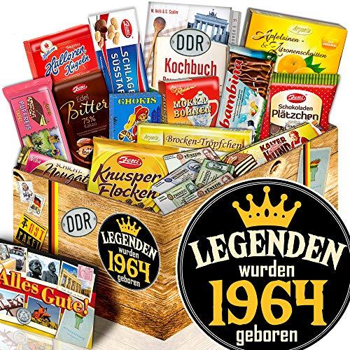 Legenden 1964 + Geschenk für Mann lustig + Schokoladengeschenk XL