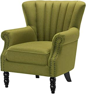 XUERUI Furniture Sofa Chair Antique High Back Seat Armchair Fireside Stool Single Seater Strong Stability (Color : T4)