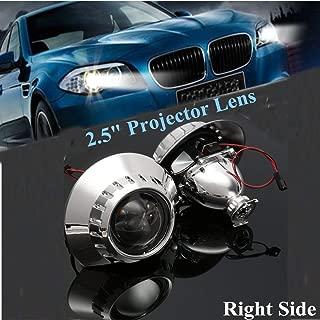 2Pcs 2.5 H1 Xenon-HID Headlight Projector Lens Retrofit RHD For BMW3 E46 HIDXenon Bulb High Low Beam