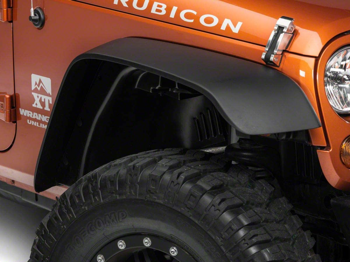 Redrock cheap 4x4 Flat Fender Flares 2007-2017 Wrangler Jeep for