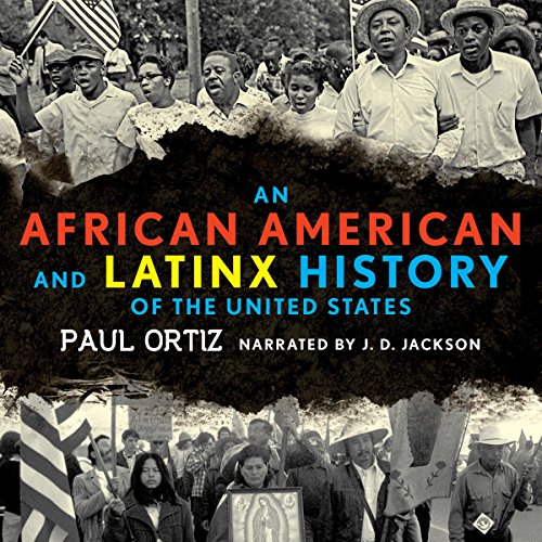 An African American and Latinx History of the United States audiobook cover art